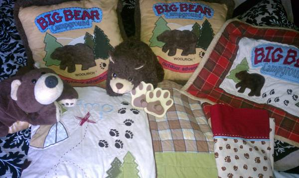 Woolrich for Kids Bear Bedding Sets - $120 (Cathedral City)