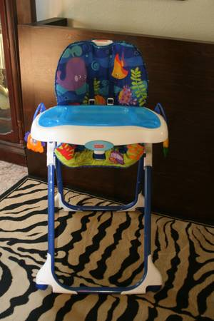 Fisher Price Ocean Wonders High Chair - $60 (La Quinta)