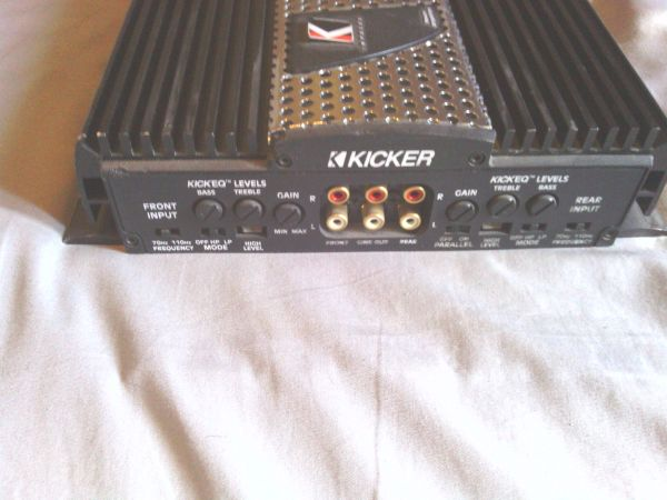 Kicker Impulse Amp - $100 (Desert Hot Springs)