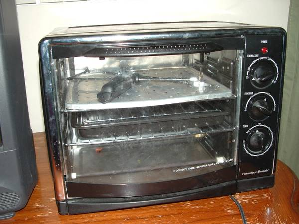 Hamilton Beach Countertop Oven with Convection and Rotisserie - $75 (Palm Desert)