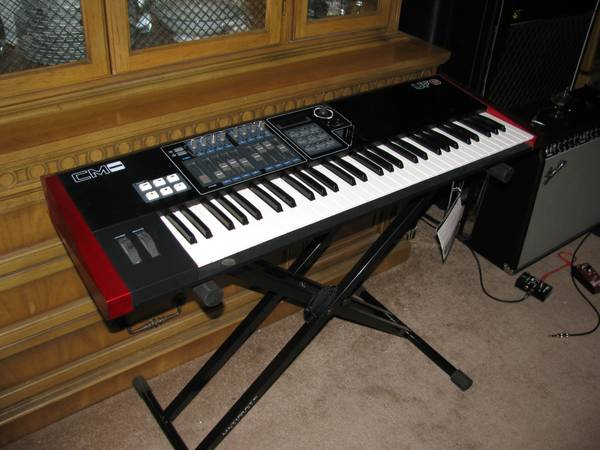 PRO KEYBOARD CME UF6 Master Controller with ASX Expansion Synth Board - $399 (Palm Desert, CA)