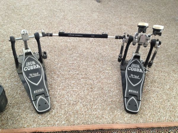 Iron cobra power glide double bass pedal - $150 (Palm Desert area)