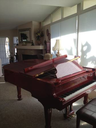 Schafer Sons Studio Grand Piano - $4000 (Palm Springs)