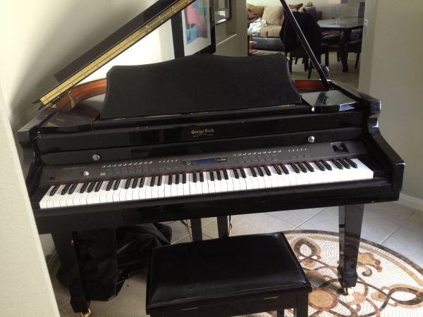 Baby Grand Piano George Steck - $3000 (Cathedral City)