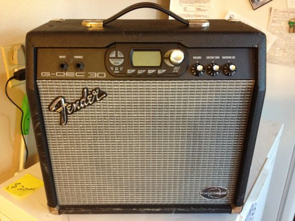 Fender G-DEC 30 Fx Guitar for sale - $175 (cathedral city)