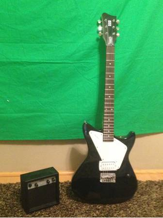 FIRST ACT ELECTRIC GUITAR WITH AMP - $65 (PALM DESERT)
