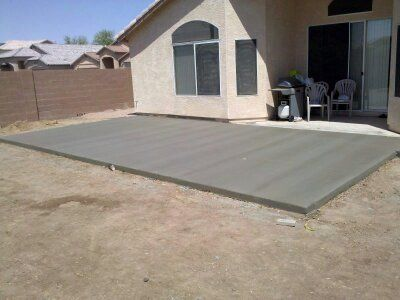 concrete work cement sidewalks driveways patios trades (LITCHFIELD PARK AVONDALE GOODYEAR BUCKEYE PEORIA WEST VALLEY)