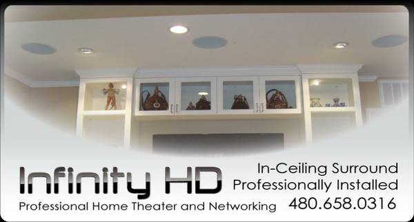 5.1 and 7.1 Surround Sound Installations - Home Theater Professionals (Valleywide)