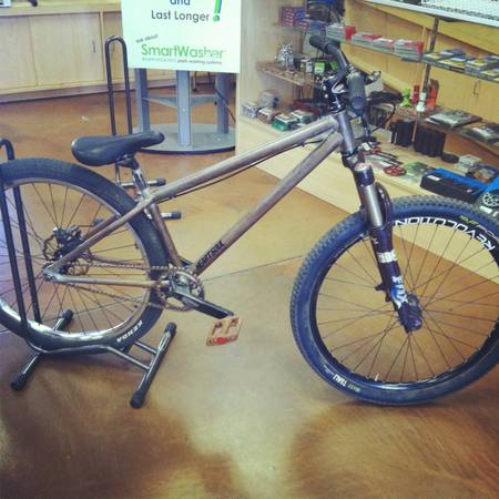 Ns dirt jumper fox talas fork transition wheels - $500 (Chandler)