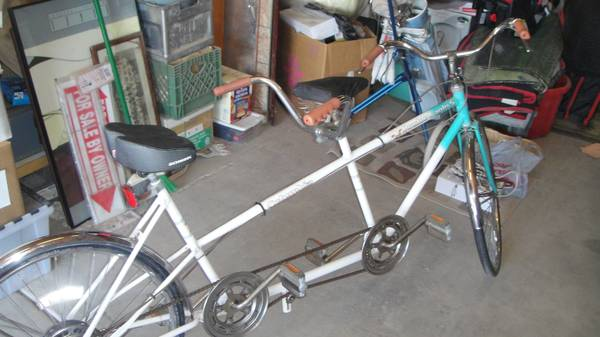 Columbia Double Eagle 5 Tandem Bicycle Built For Two - $225 (Casa Grande)
