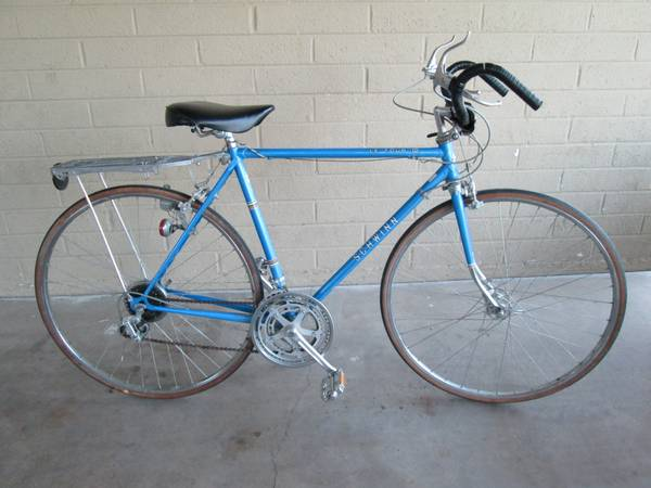 Vintage 1978 Schwinn Le Tour III Mens 10 Speed Tall Bicycle Good Shape - $150 (Tempe)