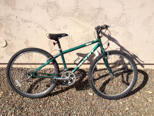 Giant Upland mountain bike, 14.5 frame, repair or spares - $25 (Peoria)