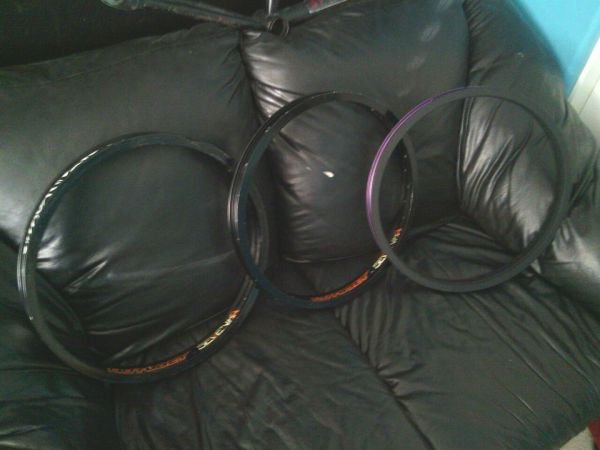 3 twenty inch BMX hoopsrims - $1 (surprise)
