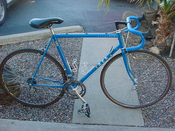 VINTAGE TREK ALUMINUM 57.2cm (1200 ) 700c MENS 12 SPEED ROAD BIKE - $290 (MESA EAST VALLEY)