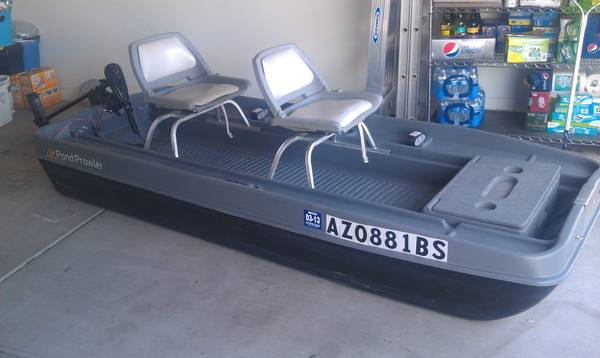 Awesome Pond Prowler Boat w extras - $850 (Phoenix)