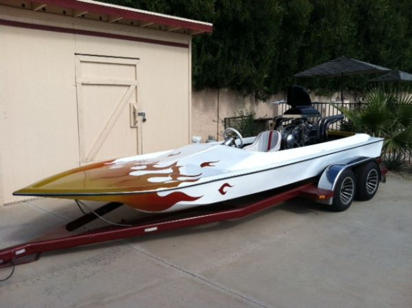 Tunnel Hull Drag Boat, Sell Or Trade - $11500 (Phoenix)