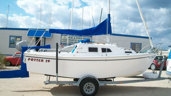 West Wight Potter 19 Sailboat - $10995 (Lake Pleasant, AZ)