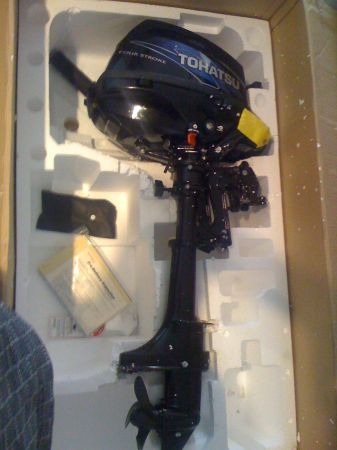 2011 Tohatsu 2.5HP 4-Stroke Outboard Motor, 15 Shaft - $725 (I17 Happy Valley Rd)