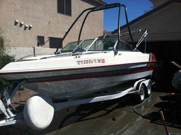 1989 Webbcraft Boat Open bow - $8000 (Goodyear)