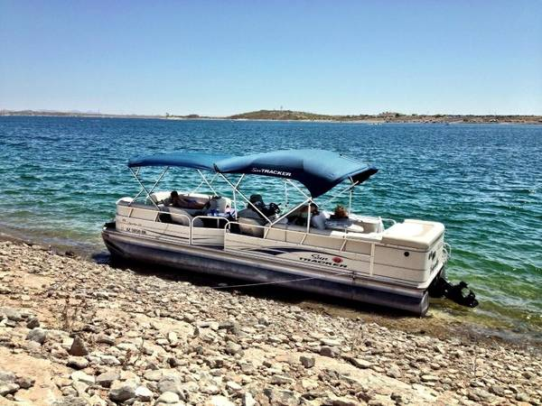 06 Sun Tracker 27 ft Regency pontoon party barge - $17500 (Surprise Az)