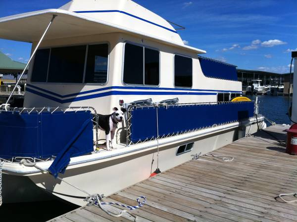 35 ft holiday mansion houseboat - $30000 (lake pleasant)
