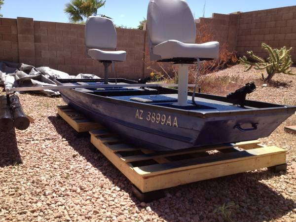 Custom 10 Foot Aluminum Jon Boat - $800 (Fountain Hills)