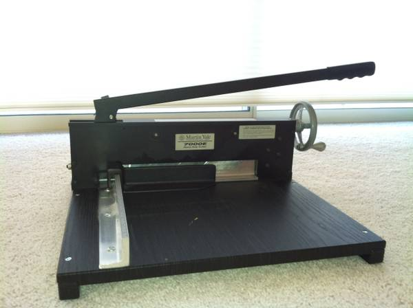Martin Yale Commercial Cutter - $550 (North Scottsdale)