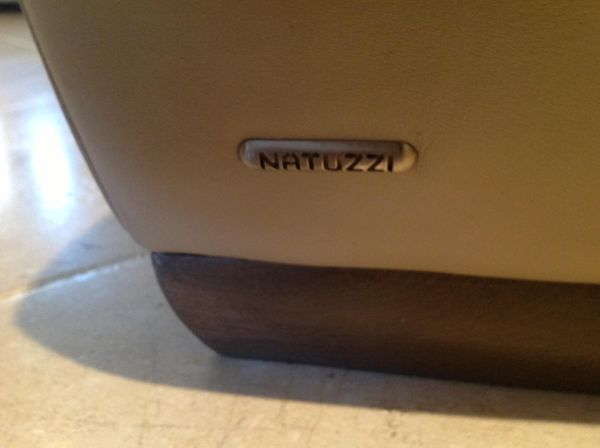 Copenhagen Leather Couch Natuzzi - $475 (Scottsdale)