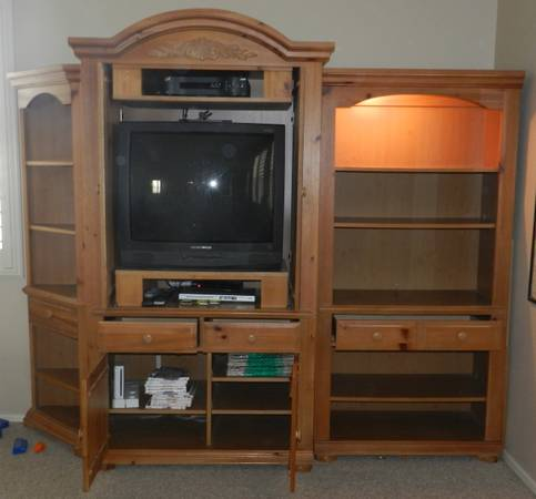 4-piece Entertainment Center - Broyhill Fontana - $700 (Laveen 85339)
