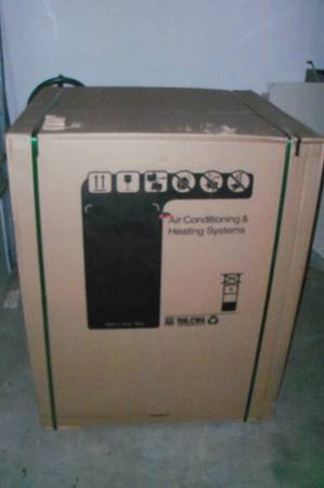 New in box Trane 3.5 ton heat pump condenser and air handler - $2400 (west valley)