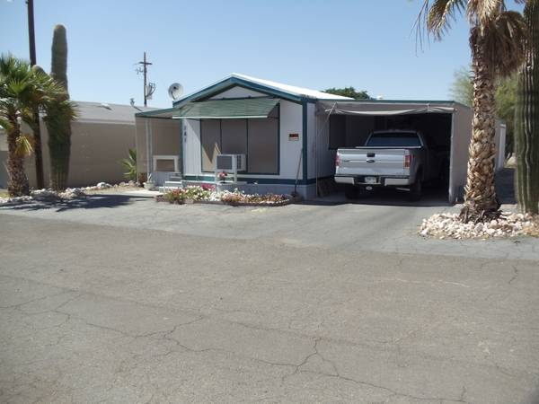 MOBILE HOME IN QUARTZSITE AZ - $69900 (QUARTZSITE AZ)