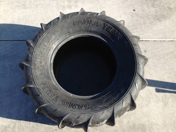 (2) 1300 Plus Sand Tires Unltd Paddles - $75 (67th and Deer Valley)