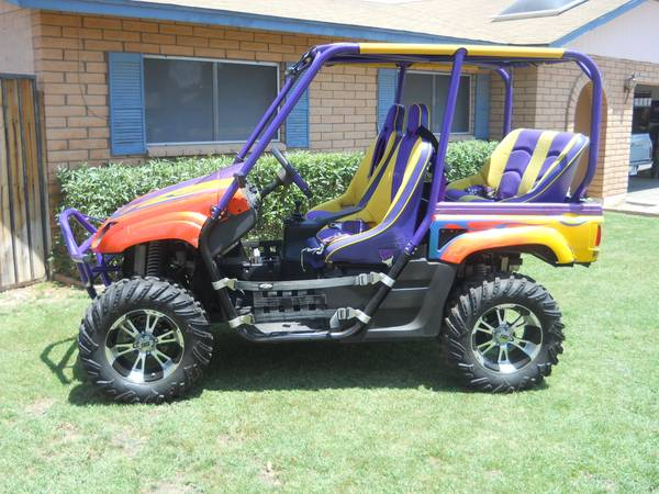 2006 Yamaha Rhino 4x4 side by side - $6800 (LOADED WITH UPGRADES)