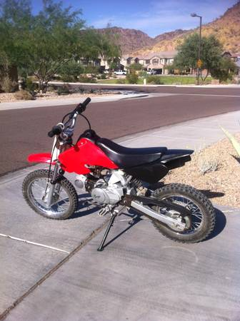 baja dr70 pit bike 2006 70cc wasnt used much - $325 (happy vally 83rd)