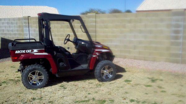 2010 Arctic Cat XTZ 1000 850miles CLEAN Partial trade for Raptor 700 - $9200 (East Valley)