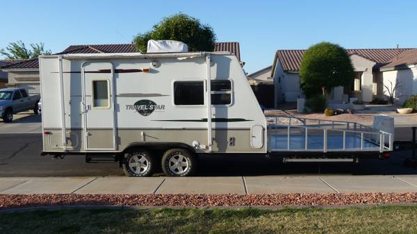 Toy Hauler, 2006 Travel Star 18SD - $10900 (Sossoman and Guadalupe)