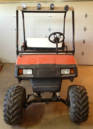Lifted gas golf cart - $3200 (Rio Verde)