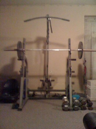 -Nautilus Weight BenchSquat rack with pulley - $350 (Casa Grande)
