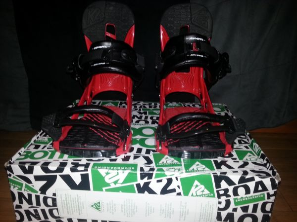 K2 Auto Uprise Snowboard Bindings (Large) - $100 (Cave Creek )