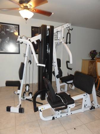 BODY SOLID EXM3000 COMPLETE HOME GYM - $950 (CENTRAL PHOENIX)