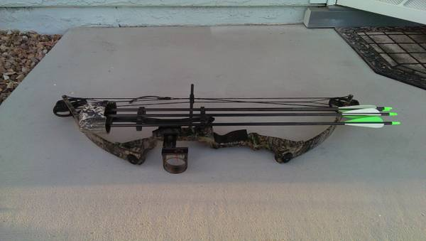 Parker compound bow lefthand - $200 (greenfeild)