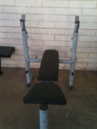 Compact But Sturdy Weight Bench - $45 (South Mountain (Near Tempe Airport))