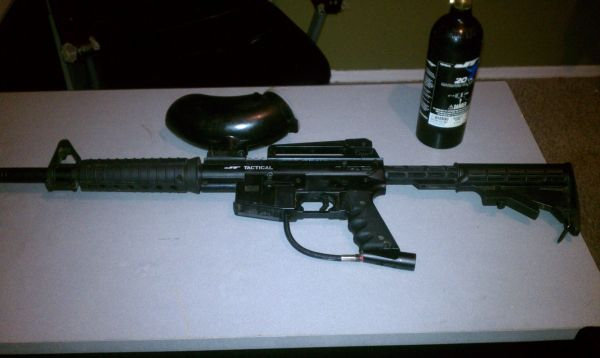 JT Tactical paintball gun $100 (OBO) - $100 (Surprise )