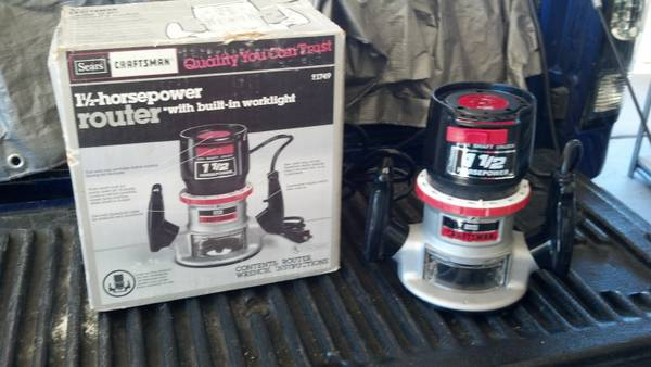 Craftsman 1.5 HP ROUTER - $30 (North Phx)