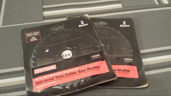 Craftsman Twin Cutter saw blades - $15 (35th ave Thunderbird)