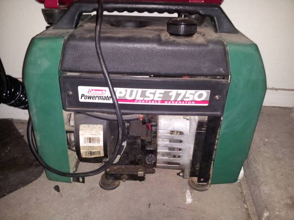 Coleman Powermate Pulse 1750 Generator - $125 (El Mirage)