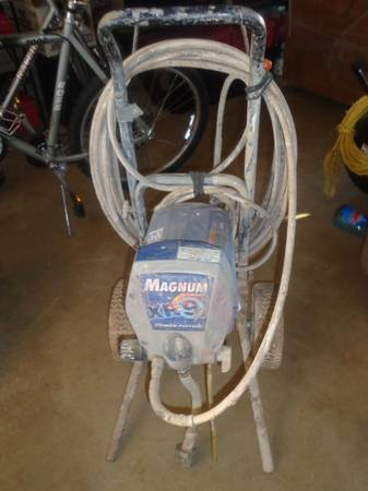 FOR SALE GRACO Magnum XR9 Airless Paint Sprayer - $425 (Mesa, Az)