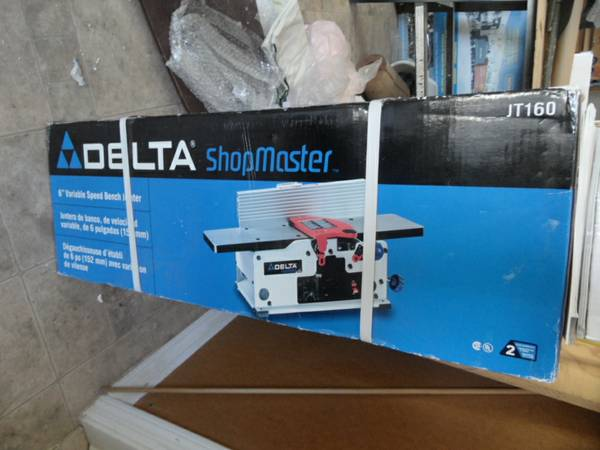 New In Box Delta 6 Bench Jointer - $200 (Surprise)