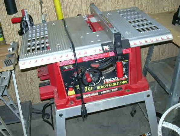 Tradesman Table Saw with Stand 10 - $50 (101 Cave Creek)