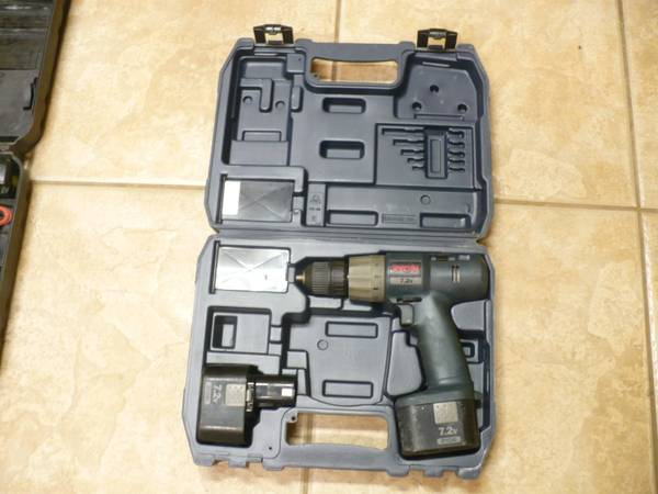 Ryobi and Craftsman Cordless Drills - $10 (Glendale --- 59th Ave and Cactus)